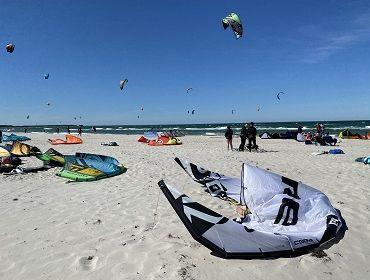 Darß (Prerow): Kitesurf- und Windsurfspot