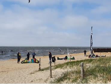 Cuxhafen (Sahlenburg): Kitesurf- und Windsurfspot