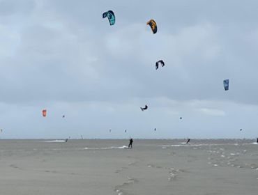 St. Peter Ording Süd (Boehl): Kitesurf- und Windsurfspot