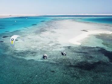 Abu Soma Bay Caribbean World Resort Ägypten: Kitesurf- und Windsurf Spot