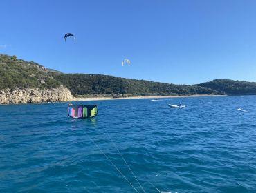 Peloponnes (Marathi Beach): Kitesurf- und Windsurfspot
