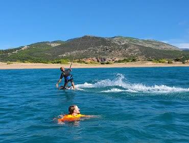 Peloponnes (Kato Samiko): Kitesurf- und Windsurfspot