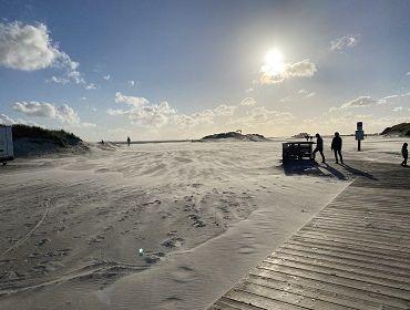 St. Peter Ording Nord (FKK Strand): Kitesurf- und Windsurfspot