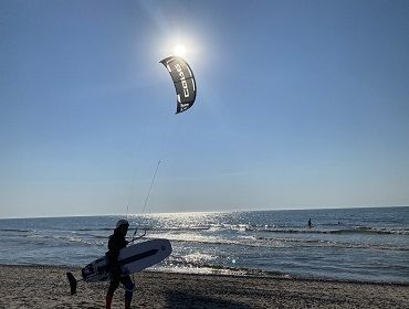 Sondervig und Houvig Strand: Kitesurf- und Windsurf Spot