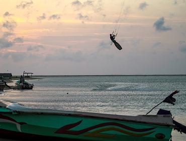 Sri Lanka (Kalpitiya Lagoon): Kite- und Windsurfspot