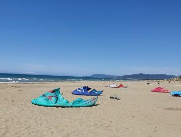 Marina di Grossetto (Tre Stelle Beach): Kitesurf- und Windsurf Spot