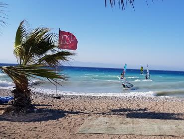 Rhodos (Ialysos Meltemi Beach): Windsurf Spot