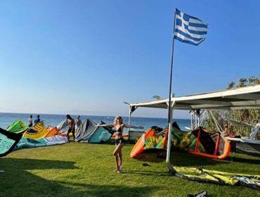 Rhodos Ialysos Rainbow Bar: Kitesurf- und Windsurf Spot