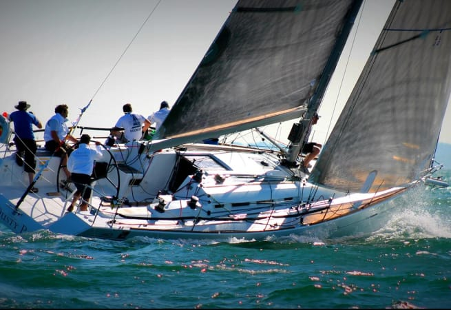 Dusty P - Beneteau First 40