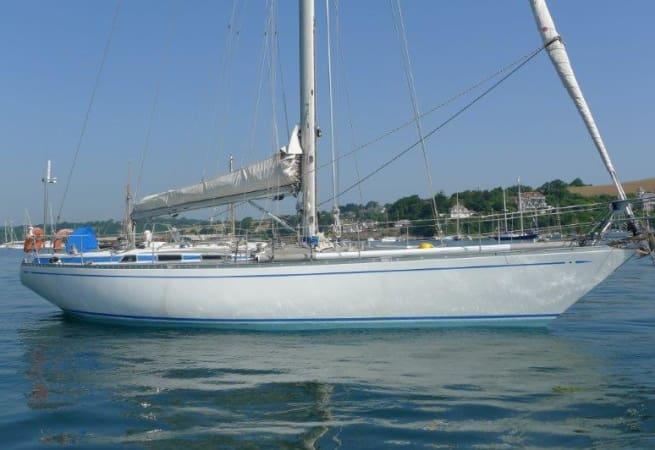 Grey sea - Swan 41