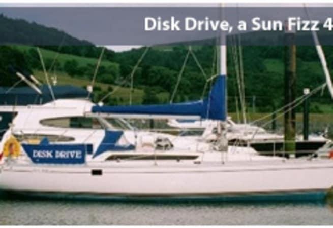 Disk Drive - Sun Fizz 40