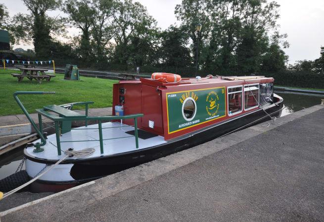 Away Day  - Narrow Boat