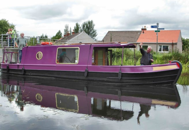 Jaggy Thistle - Narrow Boat