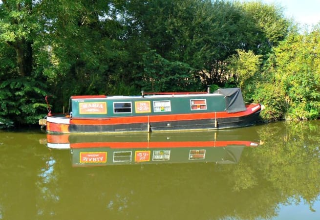Maria  - Canal Boat