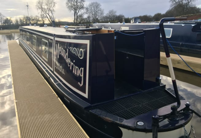 Meandering  - Canal Boat