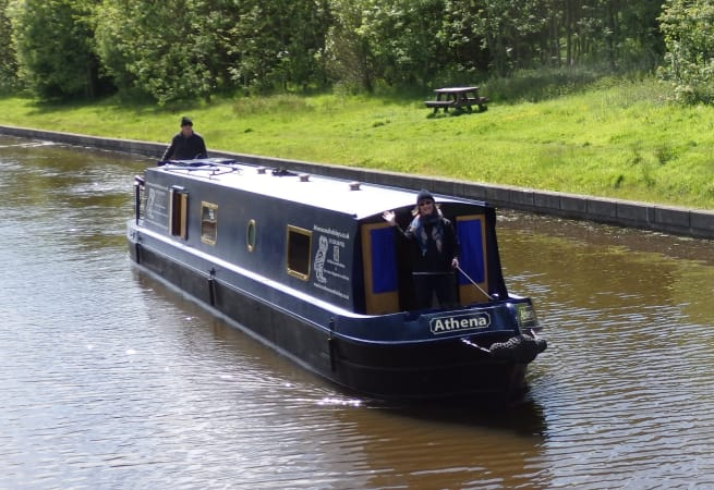 Athena canal boat  - 4 Person Canal Boat