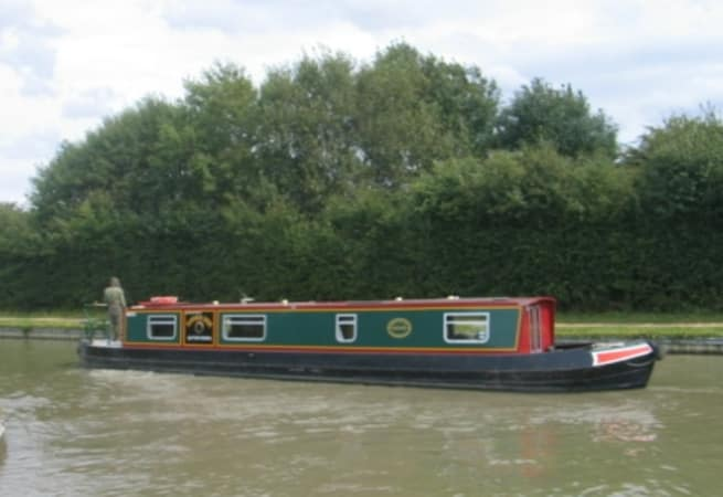 The Alvechurch Grebe - 4 Person Canal Boat