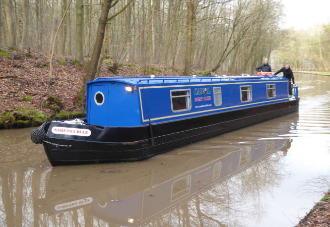 The Everettes Blues - 4 Person Canal Boat