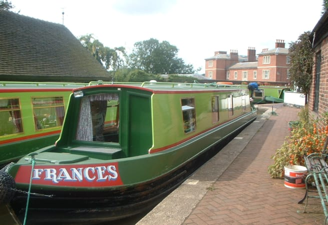 Frances Canal - 4 Person Canal Boat