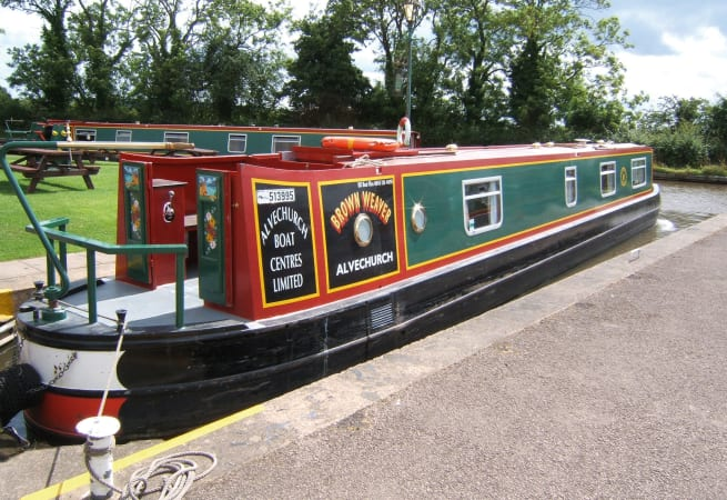 The Spectacled  - 4 Person Canal Boat