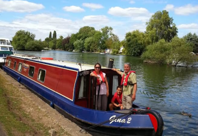 The Gina  - 6 Person Canal Boat