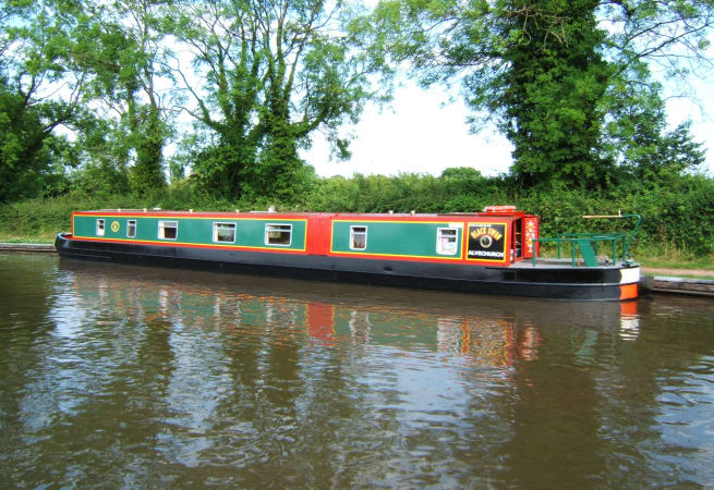 The Black Necked Swan - 12 Person Canal Boat