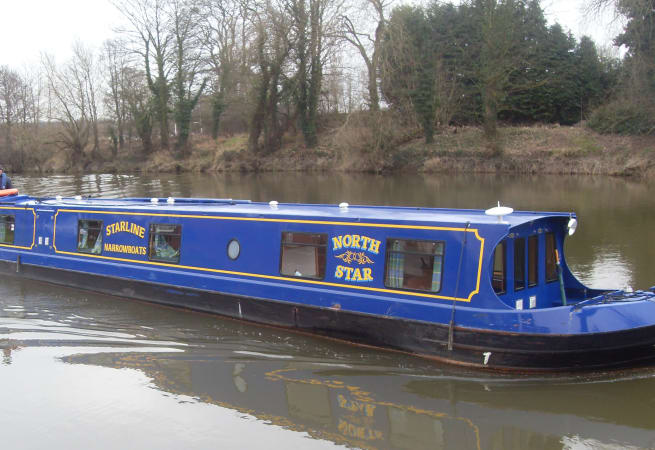 The North Star  - 12 Person Canal Boat