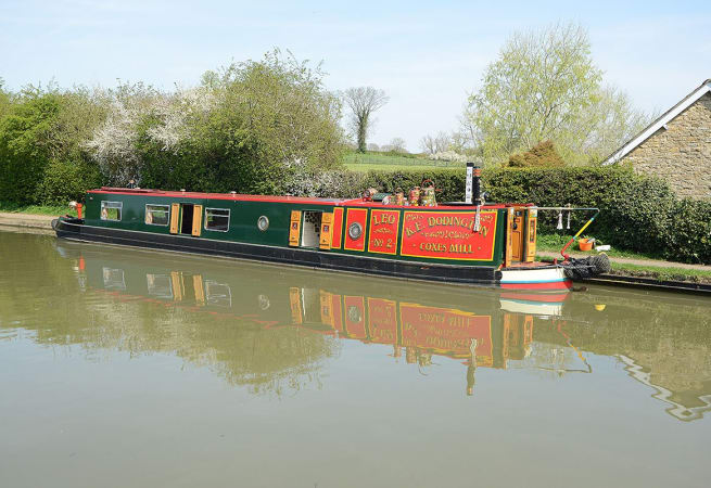 The Trumpeter Swan  - 12 Person Canal Boat
