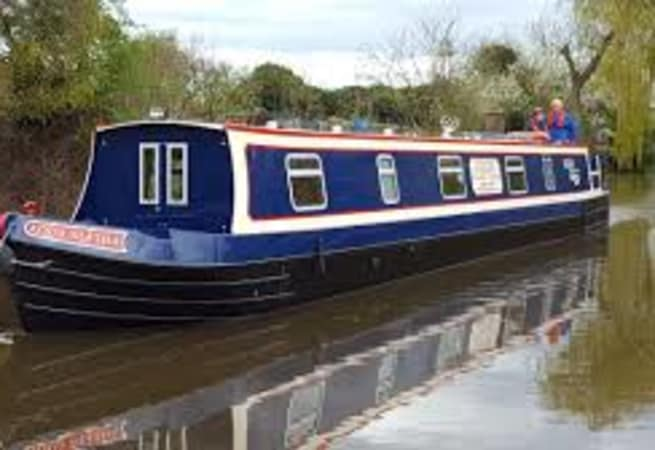 The Tundra Swan  - 12 person canal boat