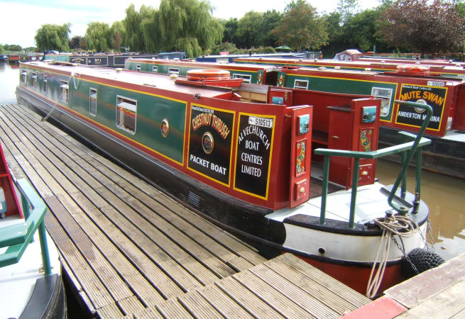 Chestnut Thrush - 6 Person Canal Boat