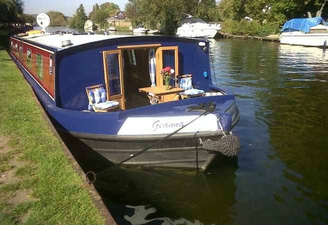 Geanna  - Wide Canal Boat
