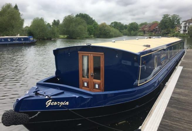 Georgia  - Wide Canal Boat