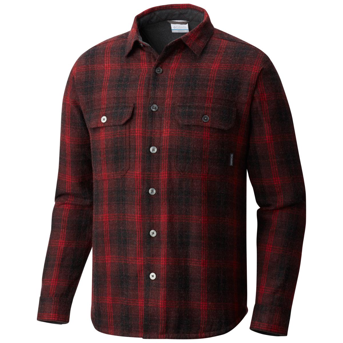 Columbia Men's Windward Iii Over-Shirt - Red, L