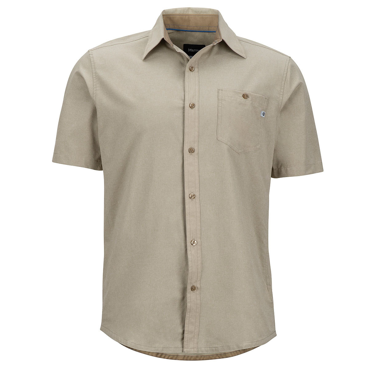 Marmot Men's Windshear Short-Sleeve Shirt - Brown, XL