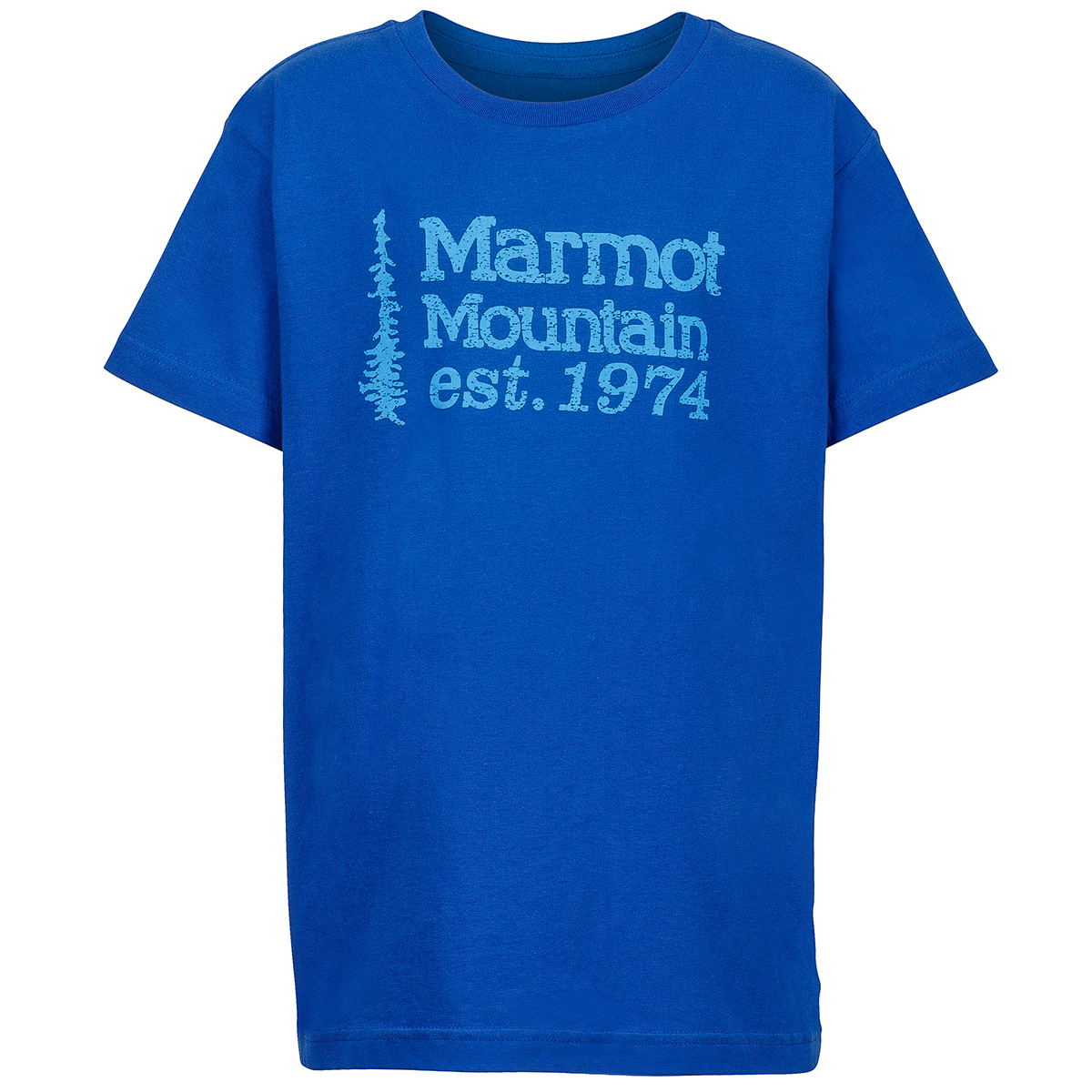 Marmot Boys' 74 Graphic Tee - Blue, S