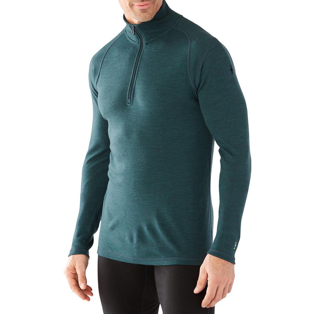 Smartwool Men's Nts Mid 250 Zip T - Green, S