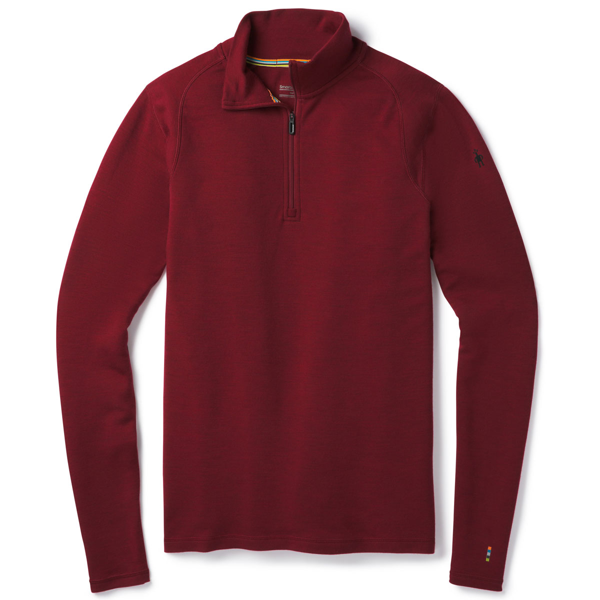 Smartwool Men's Nts Mid 250 Zip T - Red, XL
