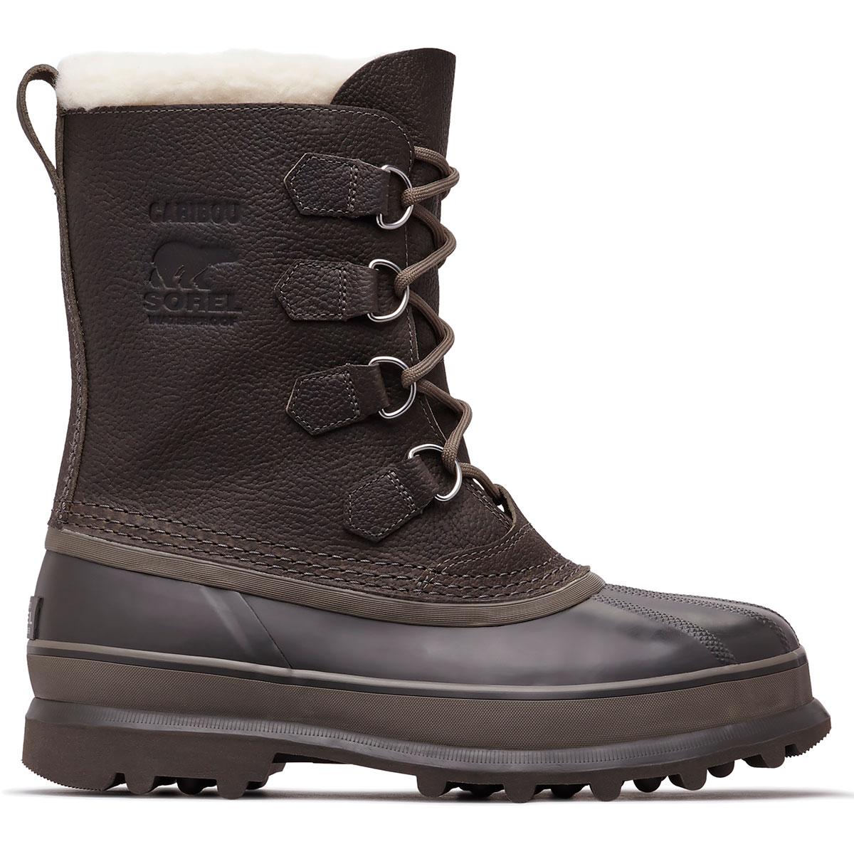 Sorel Men's Caribou Wool Winter Boots - Black, 11