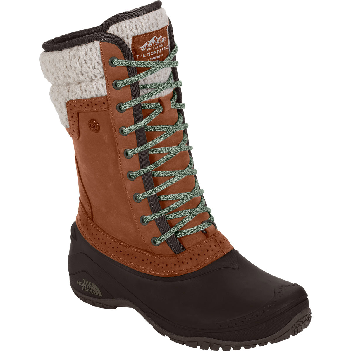 The North Face Women's Shellista Ii Mid Boots - Brown, 8.5