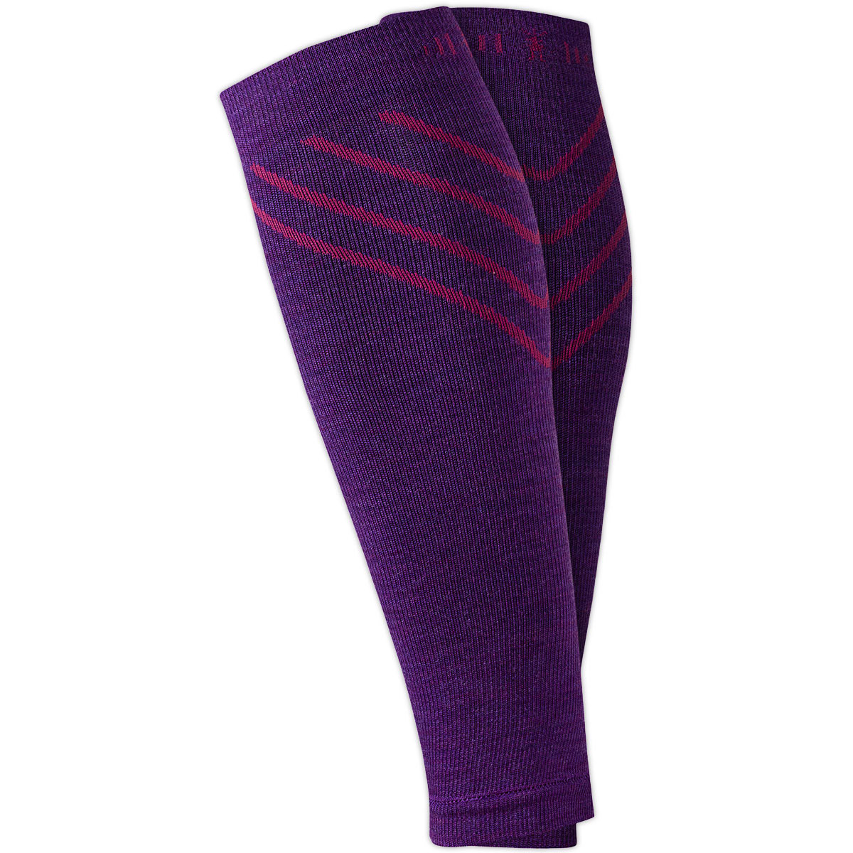 Smartwool Phd Compression Calf Sleeves - Purple, S