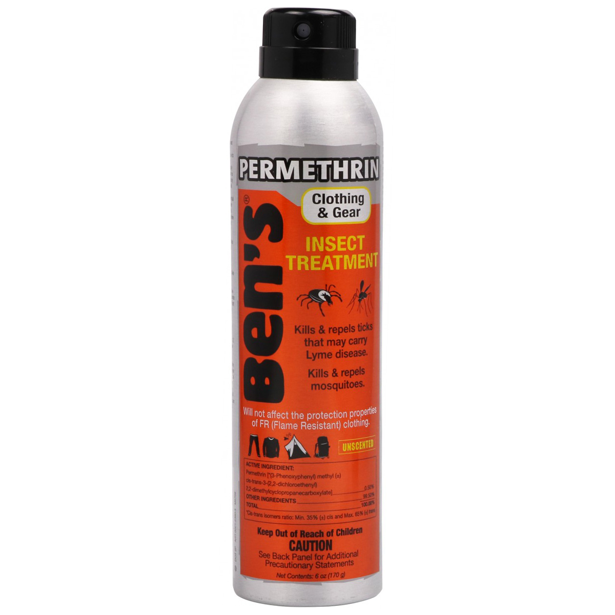 Ben's Clothing And Gear Insect Repellent - Various Patterns, NA