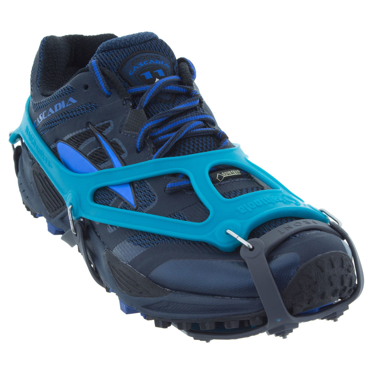 Kahtoola Nanospikes Footwear Traction - Blue, XS