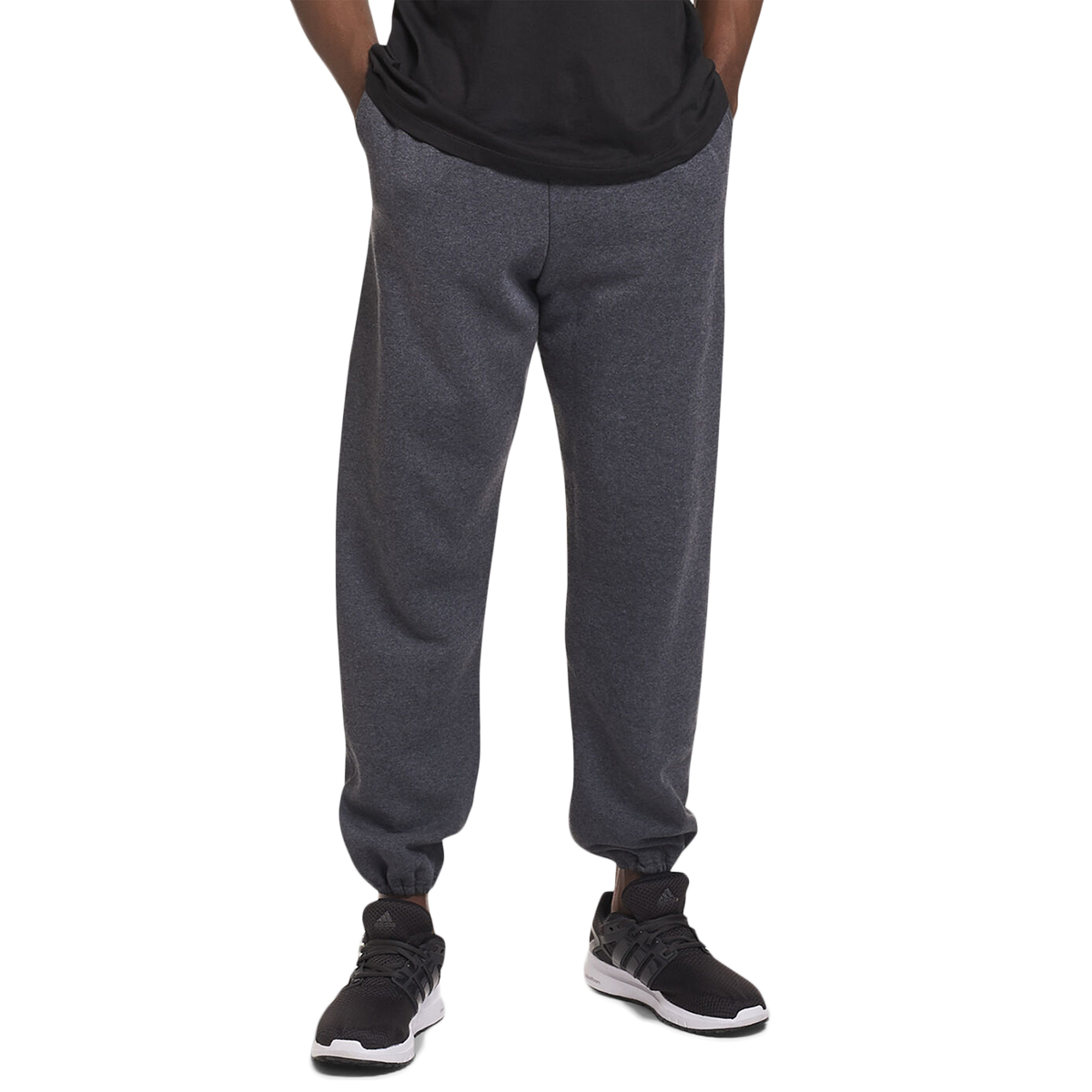 Russell Athletics Men's Dripower Fleece Pants - Black, M