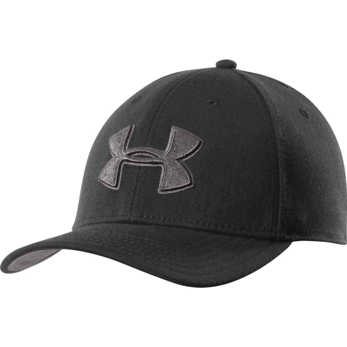 Under Armour Men's Closer Low Crown Stretch Fit Cap - Black, L/XL