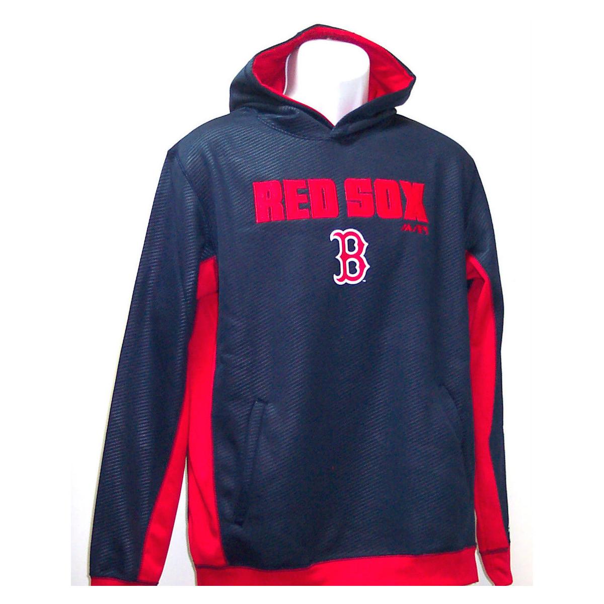 huge discount 6194d fb670 BOSTON RED SOX Kids' Geo Strike Hoodie - Bob's Stores