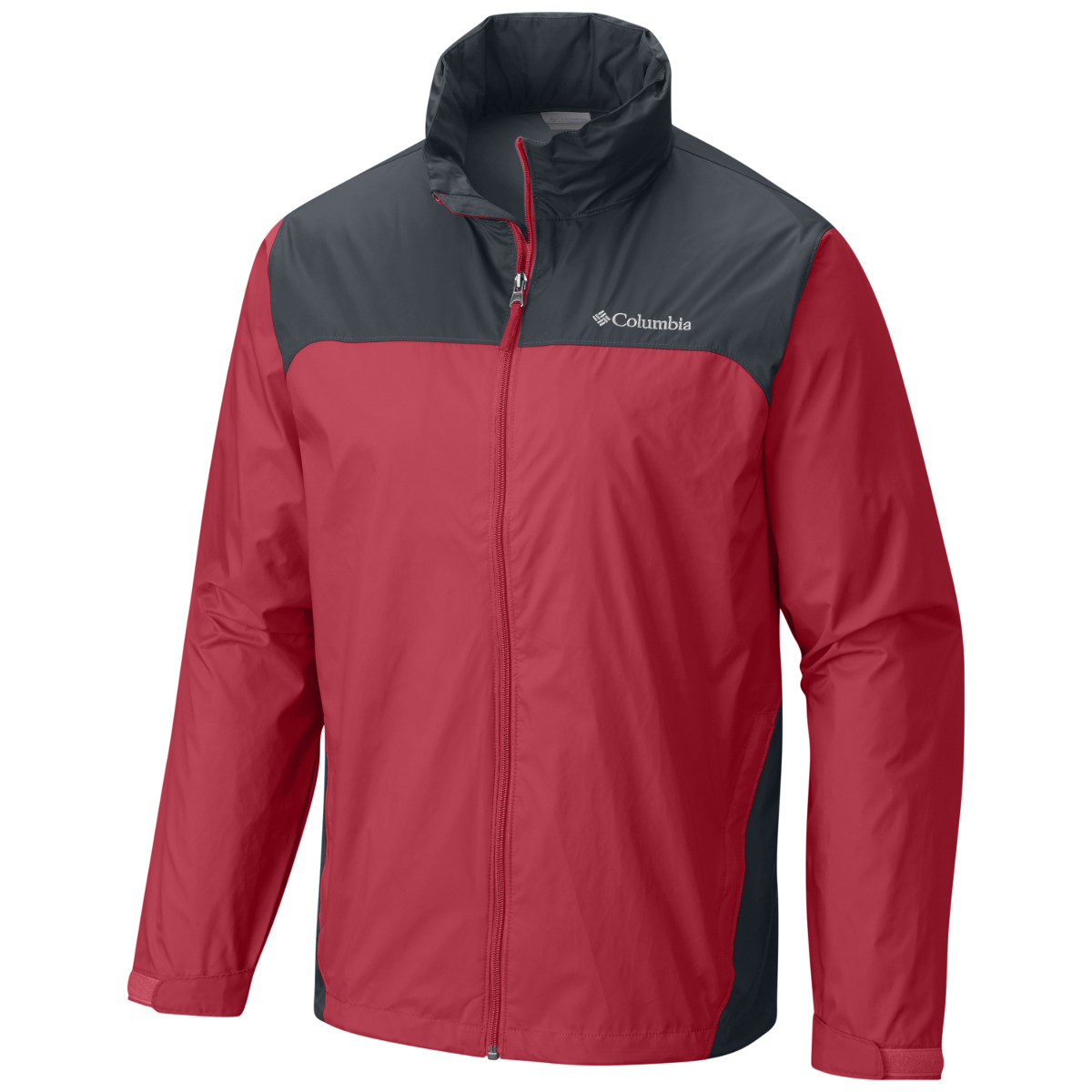 Columbia Men's Glennaker Lake Rain Jacket - Red, M