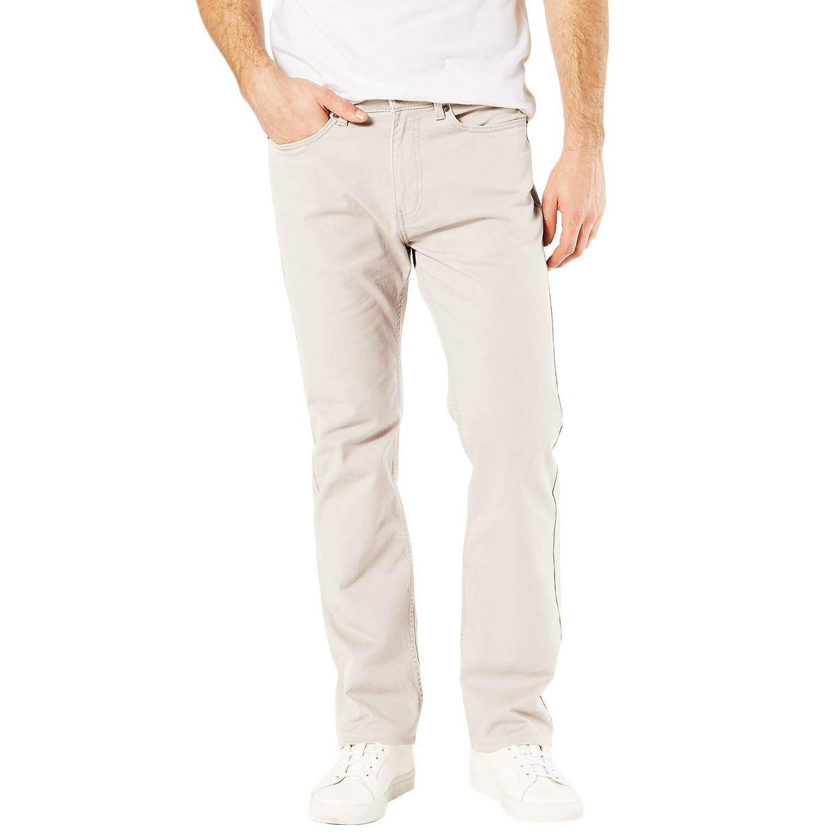 Dockers Men's Jean Cut 5-Pocket Straight Leg Twill Pants - Brown, 30/30