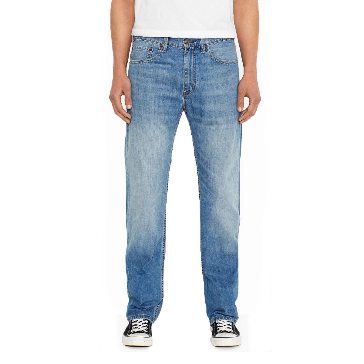 Levi's Men's 505 Regular Fit Jeans - Blue, 32/36