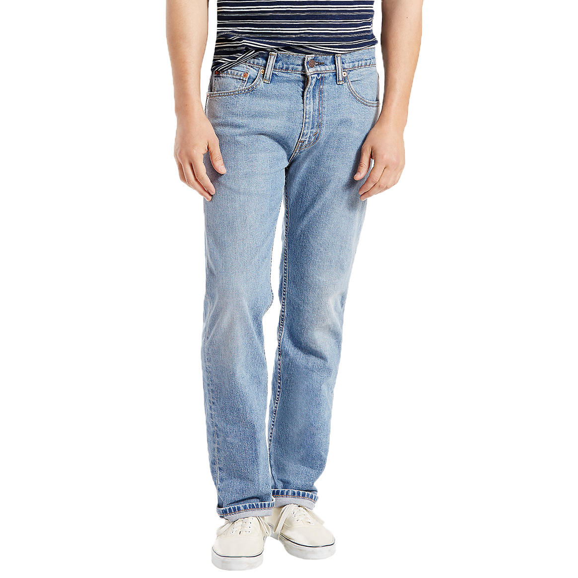 Levi's Men's 505 Regular Fit Jeans - Blue, 30/30