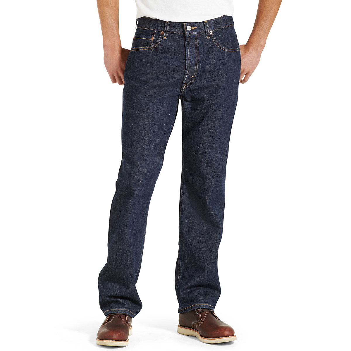 Levi's Men's 505 Regular Fit Jeans - Blue, 34/29